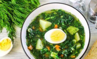 суп из молодой крапивы рецепт