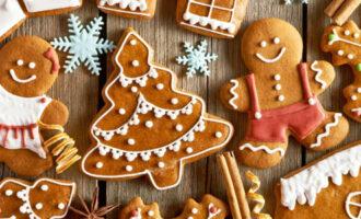 домашнее имбирное печенье рецепт