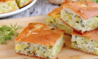 самое лучшее тесто для заливного пирога